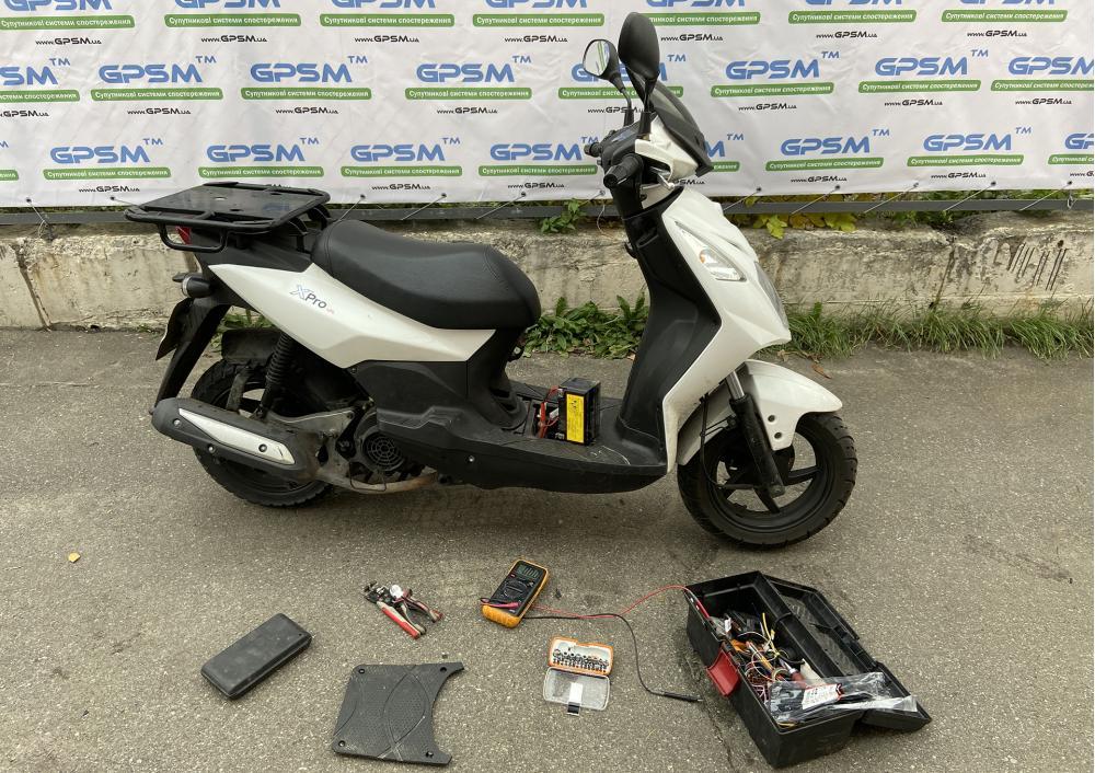 GPS мониторинг мопедов и скутеров GPSM Scooter изображение 12