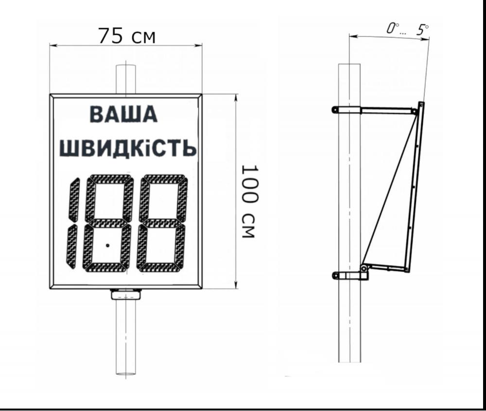 Табло скорости SSR-4 изображение 2