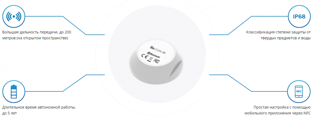 BLUE COIN ID (beacon) изображение 1