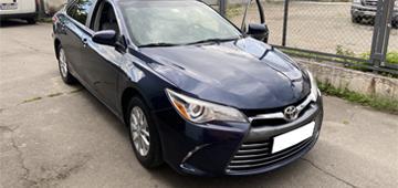 Установка GPS трекера GPSM U9 с блокировкой двигателя на Toyota Camry 55