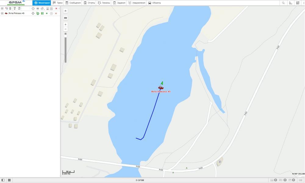 GPS слежение за речным и морским транспортом изображение 2