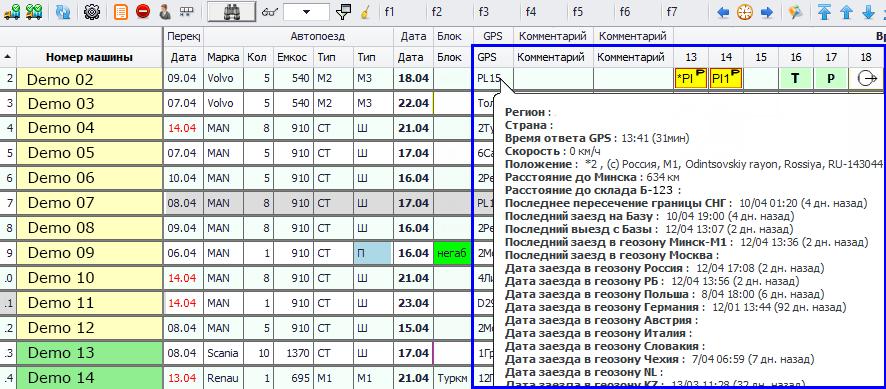 Интеграция GPS мониторинга в 1С изображение 4