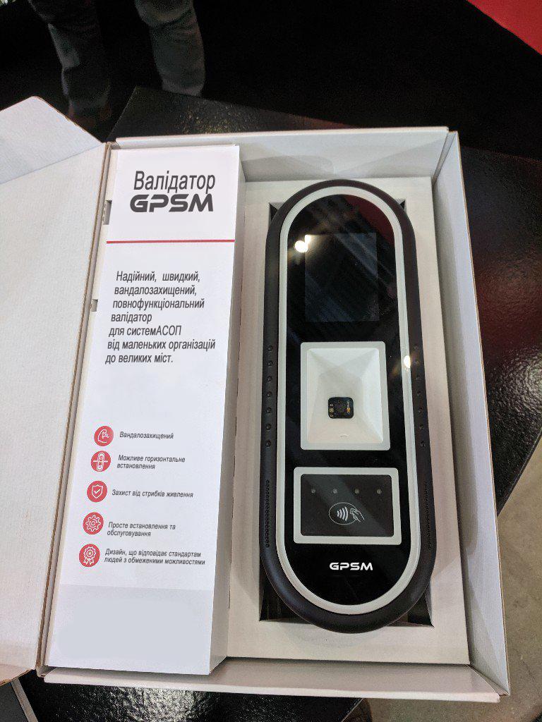Валидатор EMV для оплаты проезда в транспорте GPSM LuckyPay-2 изображение 4