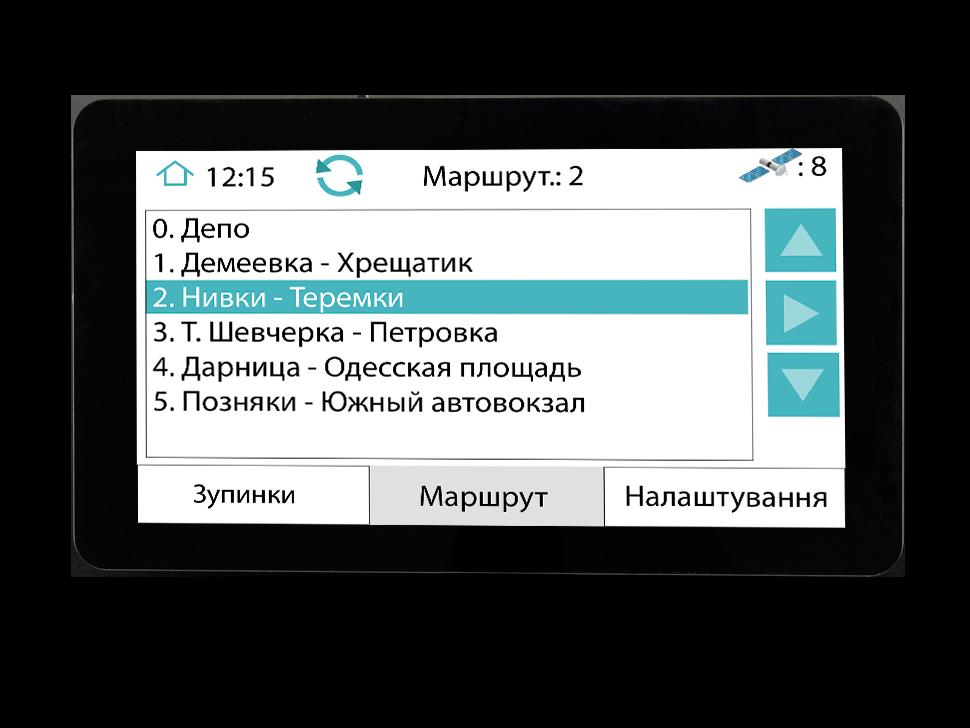 Маршрутный автоинформатор GPS изображение 2