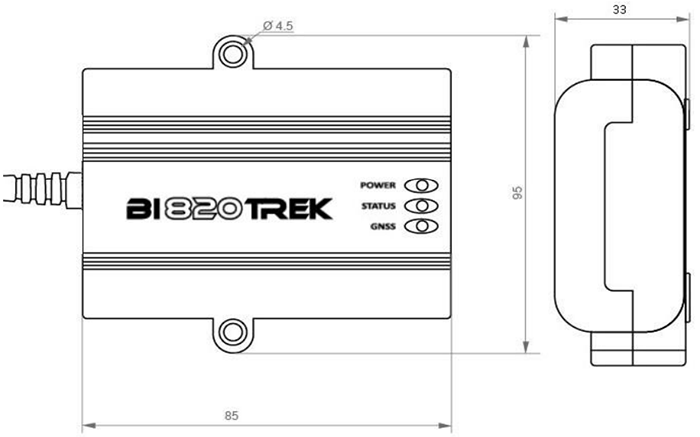 BI 820 TREK OBD изображение 3