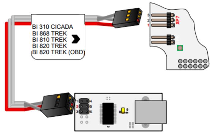 BI 820 TREK OBD изображение 4
