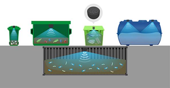 Подземные контейнеры для мусора с автономным гидравлическим подъёмником изображение 3