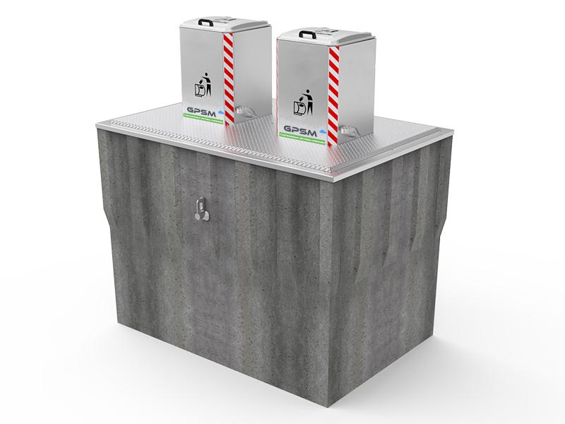 Подземные контейнеры для мусора с автономным гидравлическим подъёмником изображение 2