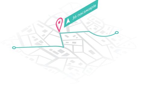 Система подсчёта пассажиров GPSM Pass-track изображение 2