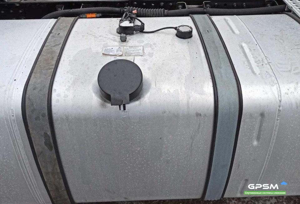 GPS + Датчик уровня топливного бака на MAN изображение 6
