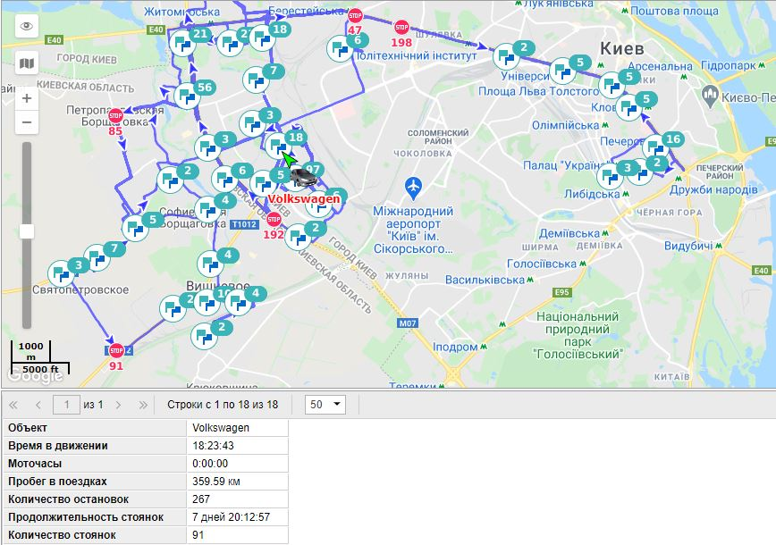 Монтаж GPS трекера на автомобиль Volkswagen изображение 11