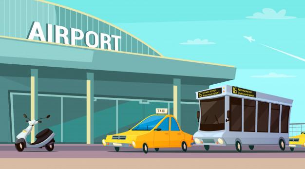 Табло для перронных автобусов аэропортов изображение 1